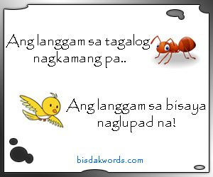 Bisdak Words - Home of Bisaya Common and Uncommon Words