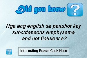 english of panuhot